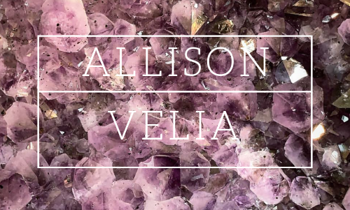 Welcome to Allison Velia,